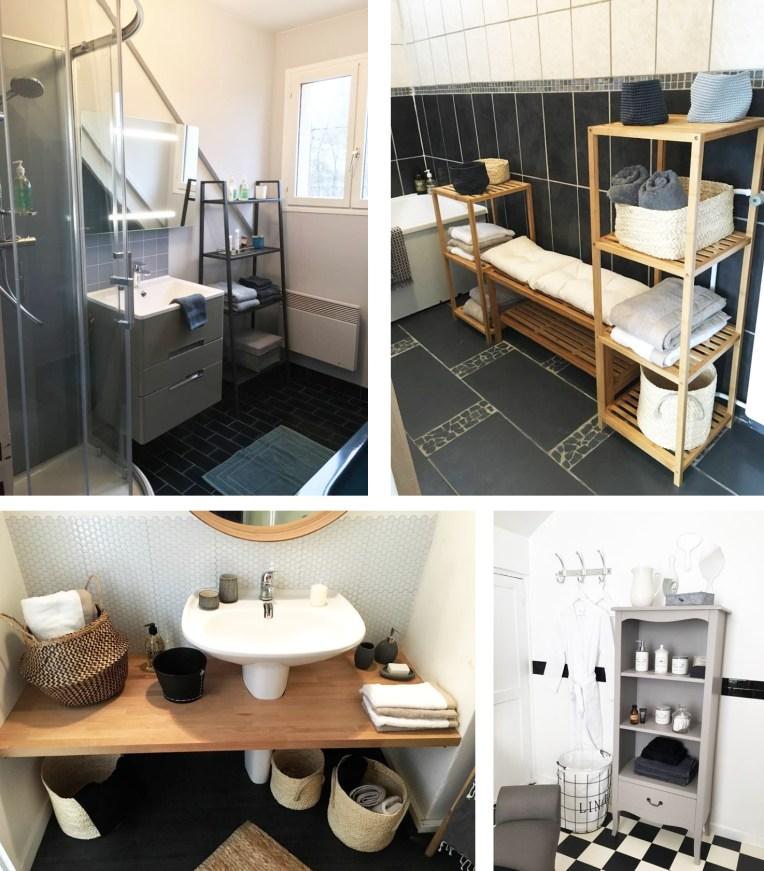 Relooker salle de bain MEUBLES