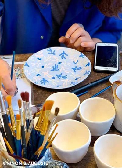 Atelier décor sur céramique3