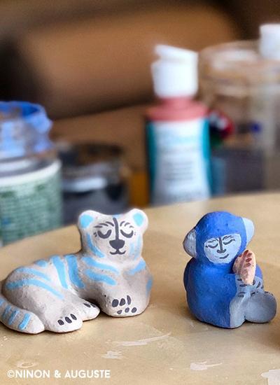 Gouter - décor sur céramique5