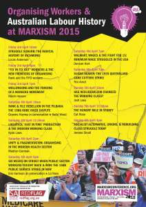 final Organising Workers poster Marxism 2015