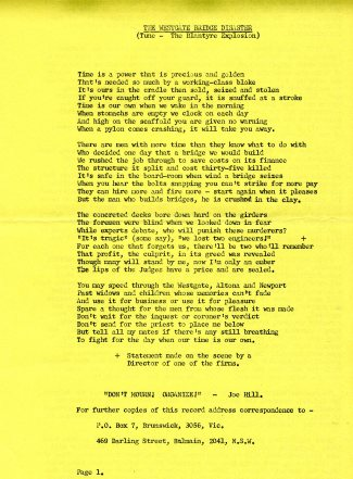 SLEEVE NOTES (front page)