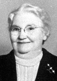 Portrait of Gertrude Melville