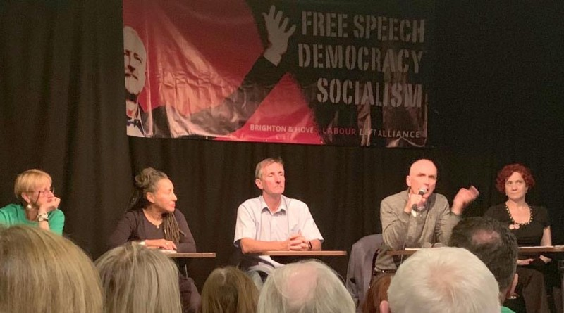 Image result for labour left alliance brighton meeting tony greenstein