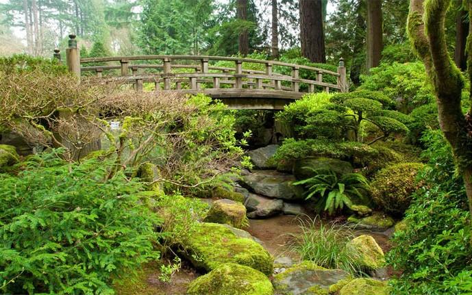 poster geant mural chambre paysage zen tete de lit panoramique jardin japonais atelier wybo