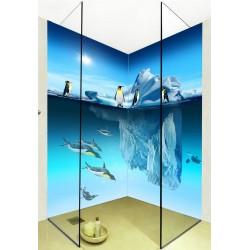 panneau mural pvc etanche decoratif fond douche salle de bain atelier wybo