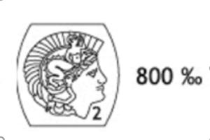 poinçon de garantie 800
