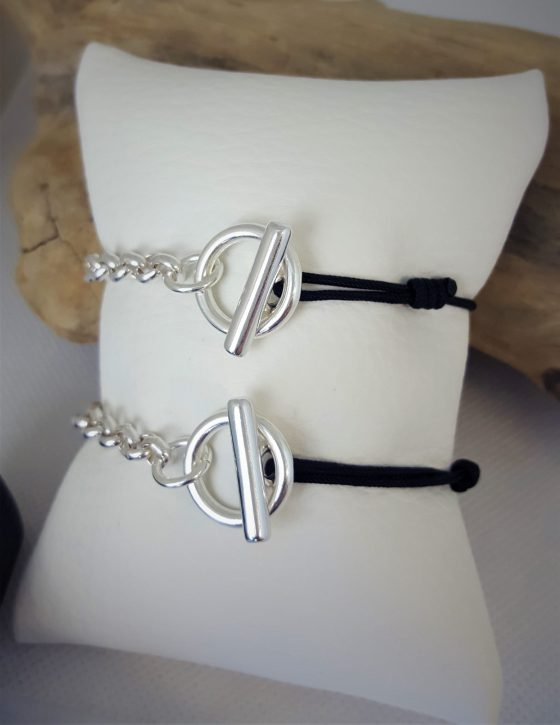 bracelet chaine grosse maille