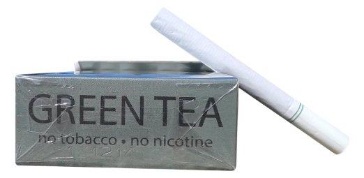 Les cigarettes sans tabac au th vert achat vente - Arreter de fumer progressivement ou d un seul coup ...