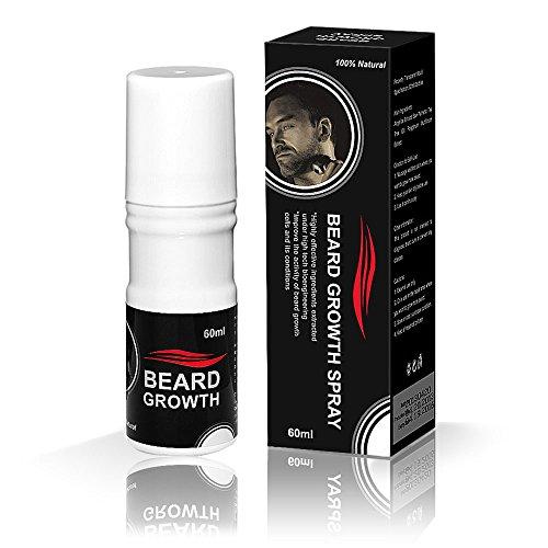 Beard growth spray