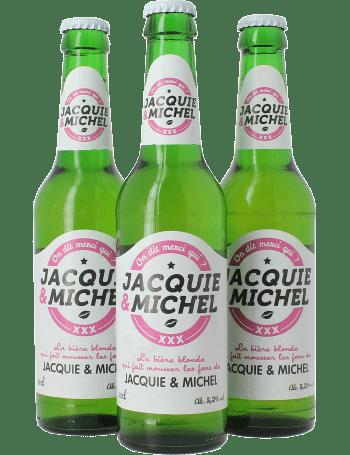 Bière jacquie et michel