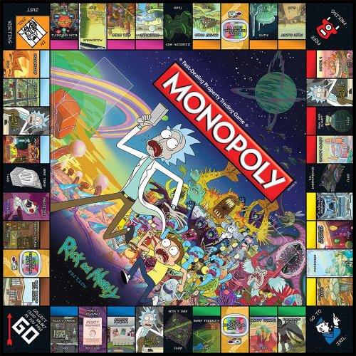 Monopoly Rick et morty