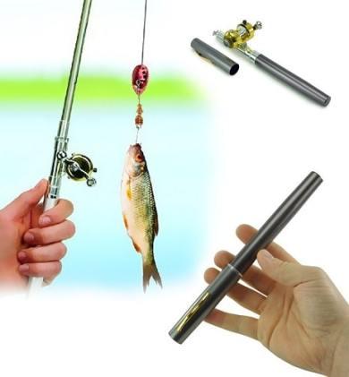 Canne à pêche de poche