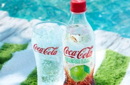 Coca Cola transparent