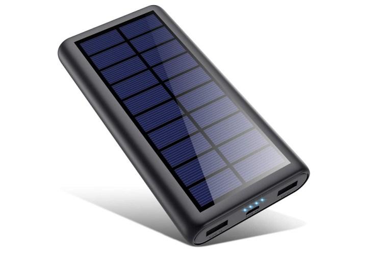 Batterie externe solaire