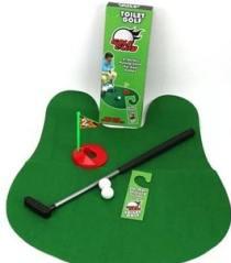 Toilette golf