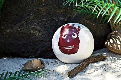 Wilson ballon seul au monde