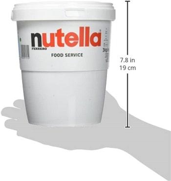 Pot de nutella 3 kg
