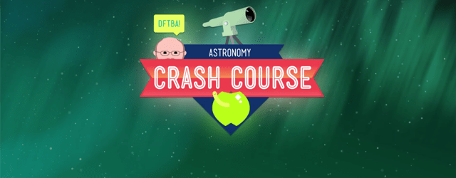 Crash Course Astronomy with @BadAstronomer