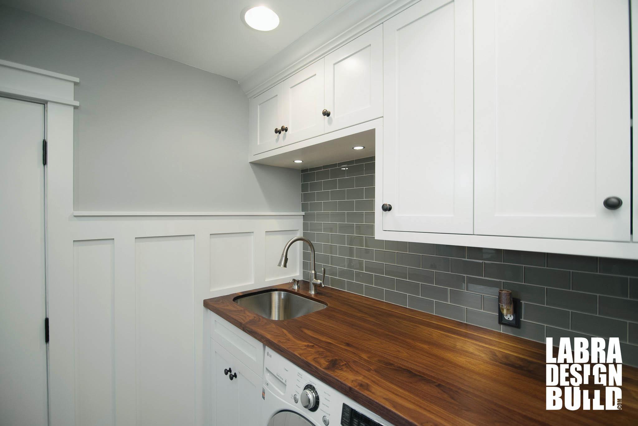 Laundry Room Amp Mudroom Renovation Novi Mi Labra Design Build