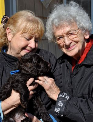 Oma ,Sue and Blue