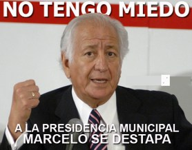 marcelo se destapa a la presidencia municipal