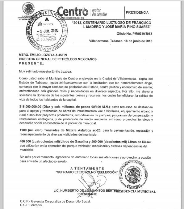 documento Pemex 1