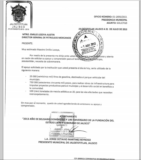 documento Pemex 2