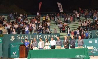 Inauguran Torneo Tenis CDP 2015-1