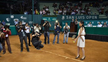 Inauguran Torneo Tenis CDP 2015-2