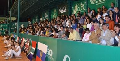 Inauguran Torneo Tenis CDP 2015-3