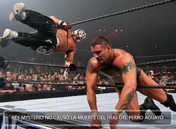 Rey Mysterio no mato al Perro Aguayo Jr