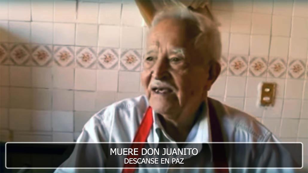 Muere Don Juanito - Tripitas El Pariancito