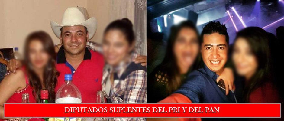 Podrían ser diputados Joel Ramírez Díaz y María Leticia Loera Medellín por historial de los suplentes del PRI y del PAN