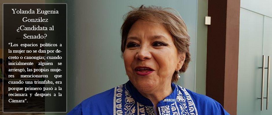 Yolanda Eugenia ganó en Coahuila ¿Candidata al Senado de la República por SLP? (Video)