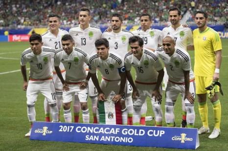 seleccion mexicana de futbol copa oro 2017-