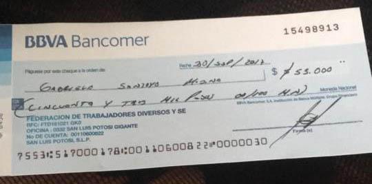 cheque-
