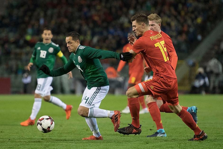 Mexico empata a 3 con Belgica-6