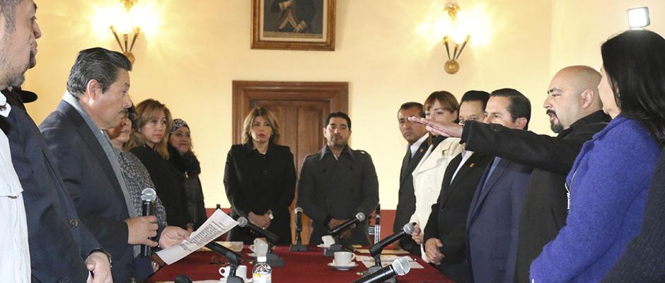 Rinde Protesta Nuevo Secretario General del Ayuntamiento de SLP