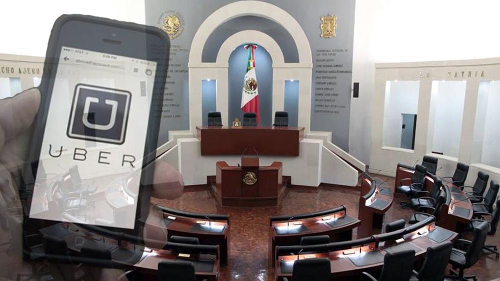 Con Multas de 120 Mil Pesos, el Congreso del Estado Pretende Retirar a Uber