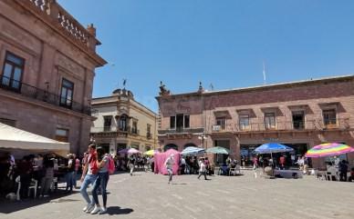 Ambulantes en Plaza de Armas 3
