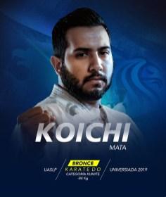 Universiada 2019-Koichi Mata-karate do-