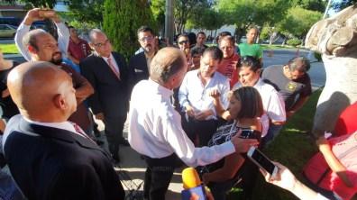 Protesta Ministerios Publicos SLP 6