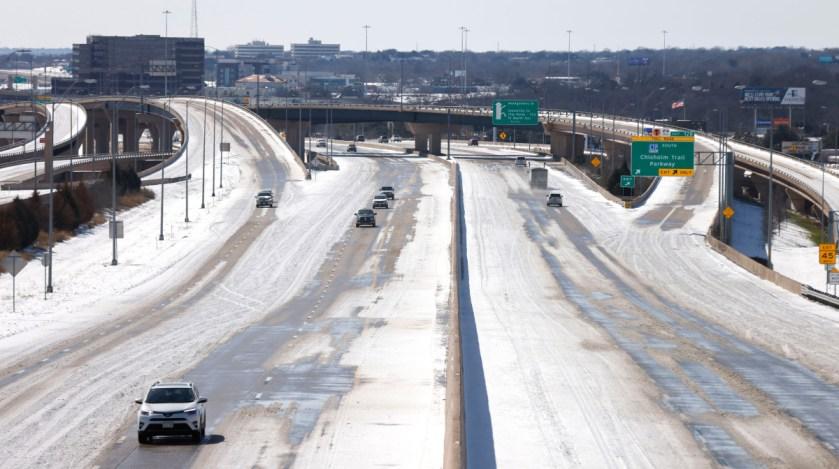 carreteras congeladas