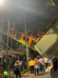Descarrila Metro en la Ciudad de México