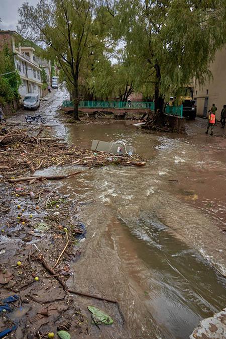 zonas inundadas necesitan rescate