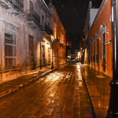 Centro Histórico vacío