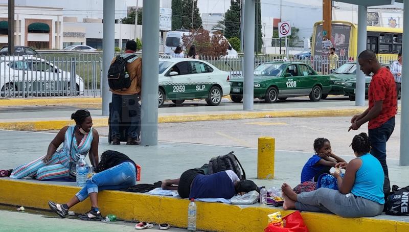 Salieron de Ghana algunos, otros son haitianos