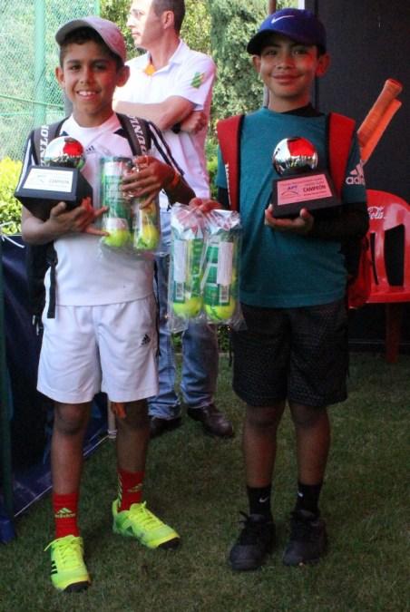 1er Campeonato Nacional Tenis Grand Slam -Campeones cat 10 años -Dobles- Ver y Yuc