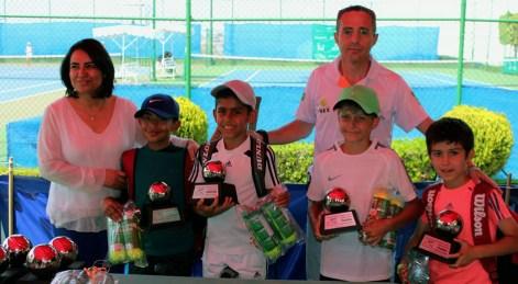 1er Campeonato Nacional Tenis Grand Slam -premiación cat 10 años dobles