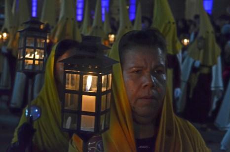Procesion del silencio en San Luis Potosi 36